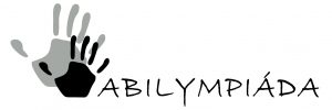 Abilympiáda černobílé logo