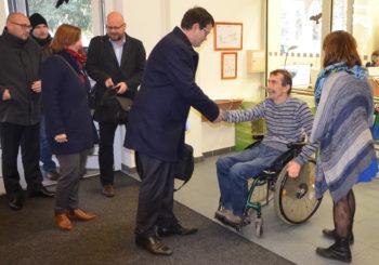 Návštěva ministra pro lidská práva a rovné příležirosti